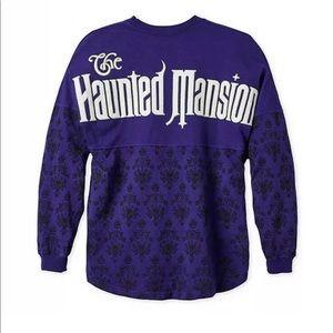 New Haunted Mansion Disney spirit Jersey Sz XS